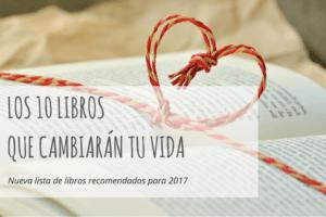 Los 10 libros que cambiarán tu vida en 2017